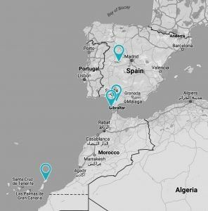 Location Retreats Spain