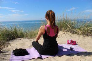 Beach Yoga in Spain
